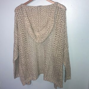 Cotton On Hooded Cardigan - Size Small